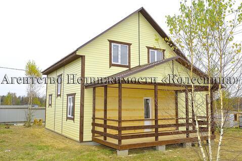 Продается новый зимний двухэтажный дом экономкласса в деревне Верховье