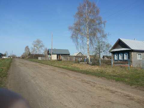 Продается участок чернозема в Нижегородской области с домом