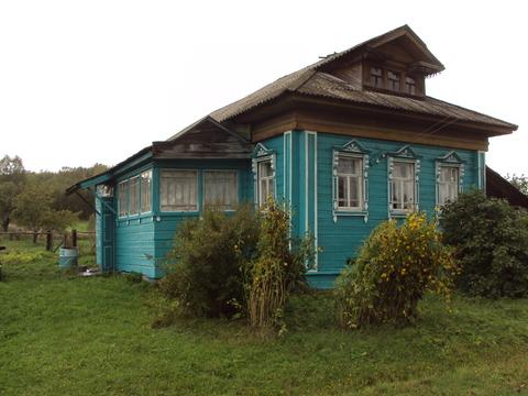Бревенчатый дом в городском округе Переславль-Залесский, с.Брынчаги