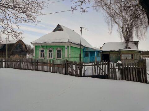 Деревянный дом в деревне Бурцево, МО, Можайский р-н.