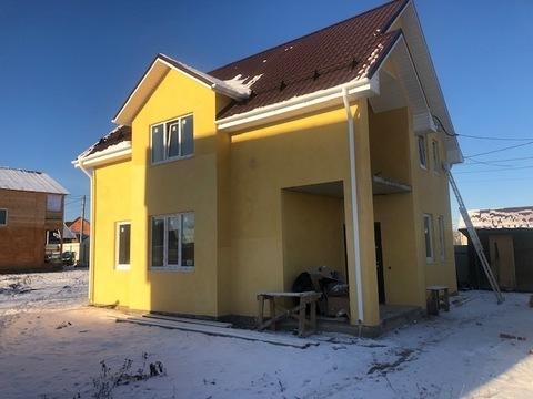 Новый каменный дом 120 кв.м, г. Чехов, 47 км от МКАД
