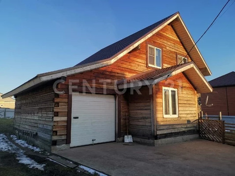 Продаётся очень теплый 2х-этажный дом из бруса с гаражом!