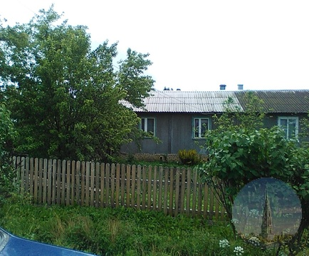710. Кесова Гора. Половина жилого дома 81,6 кв.м. с участком 7,5 сот.