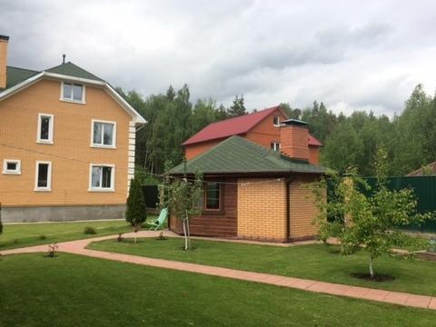 Коттедж в д. Петровское с горажем, гостевым домом и хозблоком