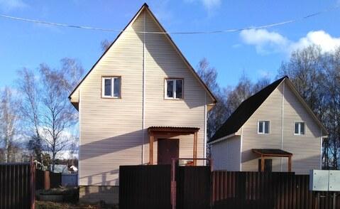 Купить дом из бруса в Чеховском районе д. Детково