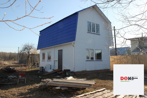 Бревенчатый дом 100 кв.м.