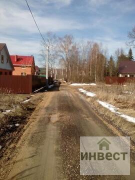 Продается земельный участок 10 соток, д.Назарьево СНТ Солнышко