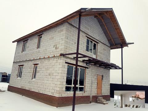 Новый дом в развитой деревне!