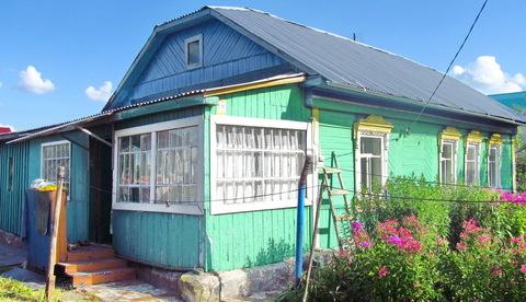 Дом на 9 сотках в самом п.Заокском, ул.Комсомольская, свет, газ, вода,