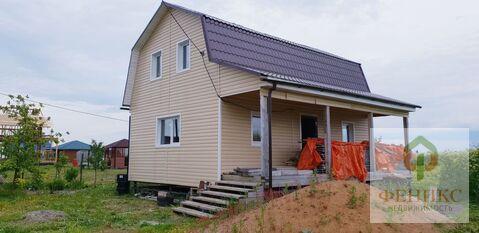 Новый дом 105м. на участке 12 соток в д. Оржицы , Ломоносовский р-н.