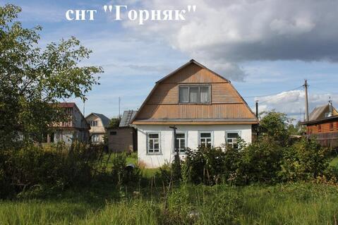 Дом с баней на участке 12 сот. в районе Сычево Волоколамский р-н