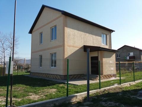Купить новый двухэтажный дом в Новороссийске
