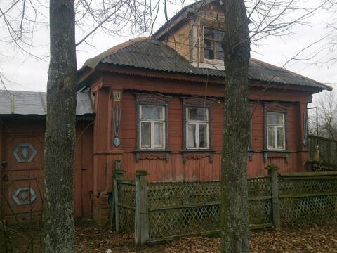 Дом деревянный деревенский в дер.Бывалино