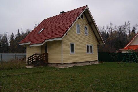 Дом 130 кв.м, Участок 9 сот. , Пятницкое ш, 20 км. от МКАД.