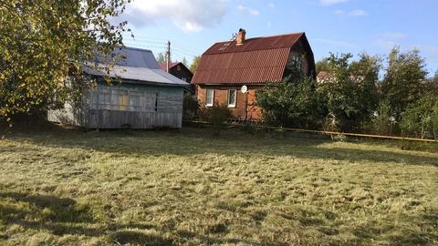 Продается земельный участок с садовым домом в Наро-Фоминском районе