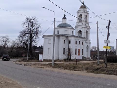 Продам участок 12, Тарусский район, село Кузьмищево.