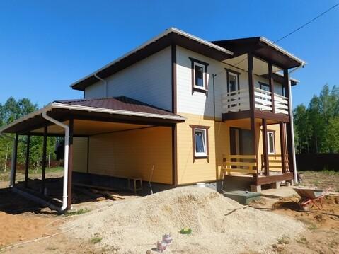 Дом в Подмосковье недорого в деревне для ПМЖ без посредников с газом