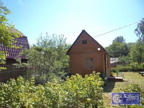 Участок с 2-мя домиками в 2 км от Волоколамска (СНТ)
