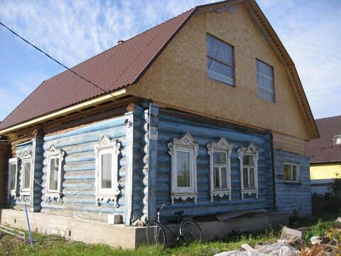 Жилой дом в деревне Цибино.