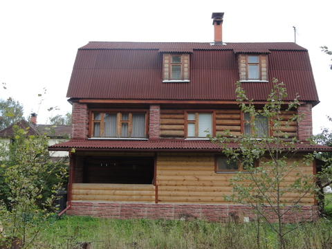 Продается участок в д. Родионцево пл. 12.5+3 соток с домом пл.165