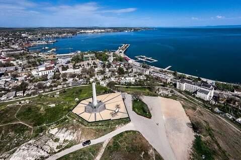 Дом на побережье Черного моря.