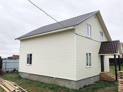 Новый двухуровневый дом площадью 140 кв.м.