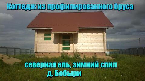 Дом из северного-сушеного-профил ированногобруса, на 15 сот, - ИЖС