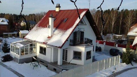 Светлый уютный дом 330 кв.м, участок 11 соток, 28 км от МКАД по .