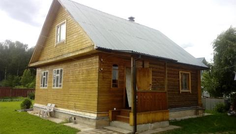 Продается зимняя дача из бревна с баней Верхнее пикалово Чехов