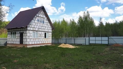 Жилой дом 65 кв.м. на участке 12 соток вблизи жд станции