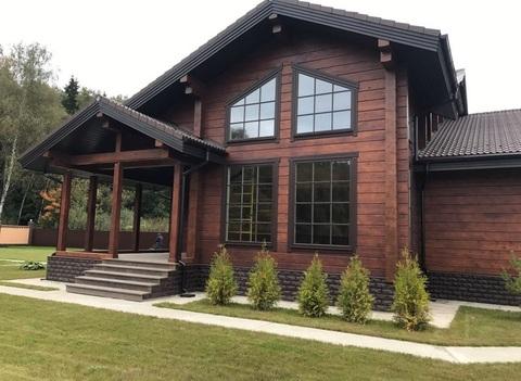 Потрясающий деревянный дом на прилесном участке 12 км от МКАД
