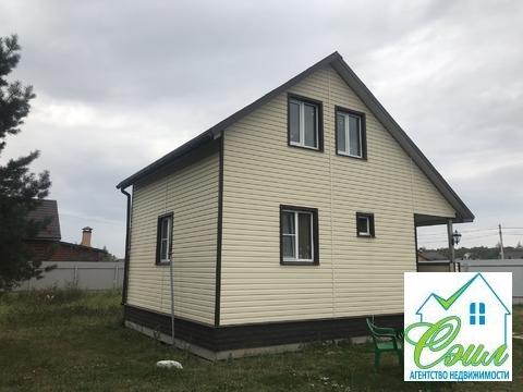Дом 62 кв.м. на 7,5 сот. в черте г.Чехов. ул.Церковная горка.
