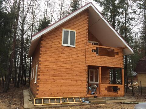 Продается участок с домой, коттеджный поселок Лесные Пруды