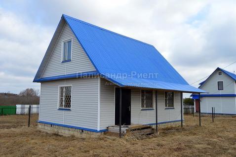 Дом из бревна 115 кв.м, на участке 39 соток. 85 км от МКАД.