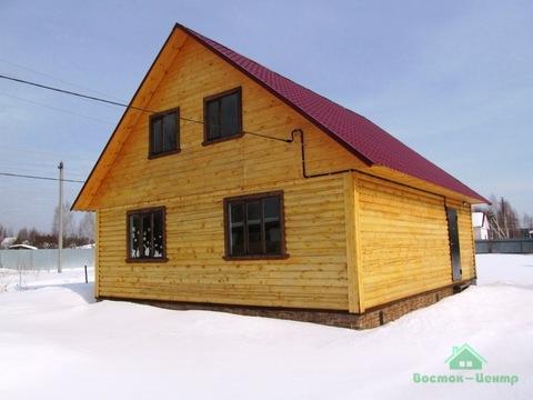 Новый дом с баней в дер.Корытово - 90 км Щелковское шоссе