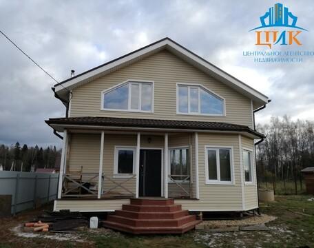 Продается 2-этажный, каркасный, утепленный дом в 17 км от г. Дмитров