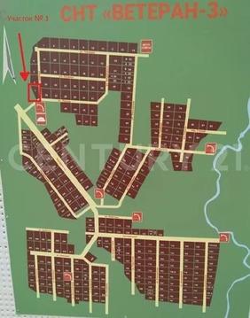 Продается участок, Ветеран-3 (д.Вилга) СНТ.