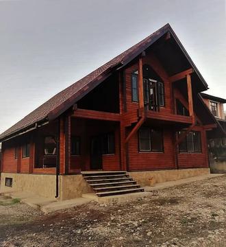 Новый брусовой дом 170 м.кв. на уч. 7 сот. в Геленджике, Адербиевка