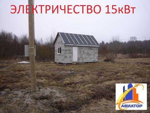 Придается участок 18 соток в поселке Прибылово