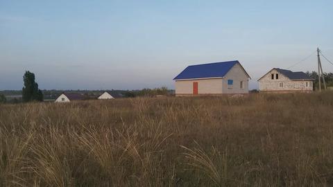 Земельный участок в д.Казинка с красивым видом на город