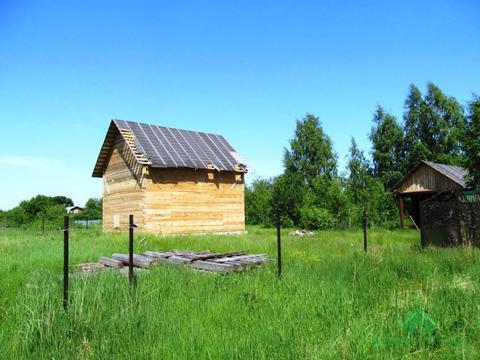 Недостроенный дом в д.Храпки - 75 км Щелковское шоссе