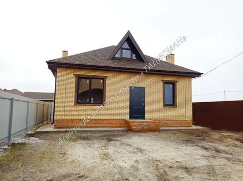 Продается кирпичный дом в ближайшем пригороде Таганрога, с. Новобессер