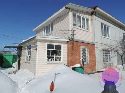 Часть жилого дома100м2 в Павлово-Посадском р-не, д.Кузнецы,50 км.отмкад