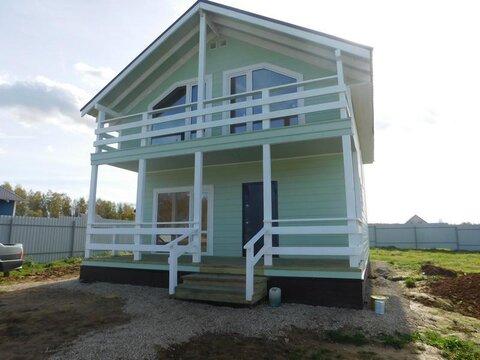 Жилой дом для ПМЖ центральные коммуникациями, прописка, деревня.
