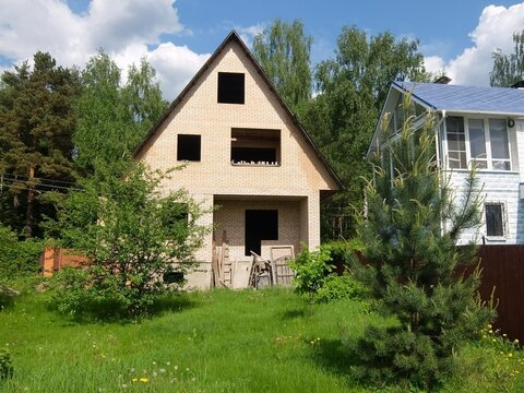 Дом 160 кв.м, Участок 8 сот. , Ярославское ш, 20 км. от МКАД.