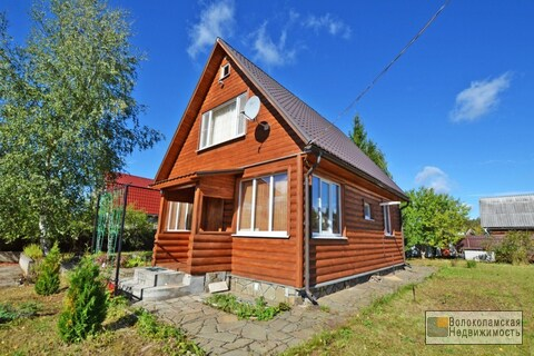 Благоустроенный зимний дом с газовым отоплением в Волоколамском районе