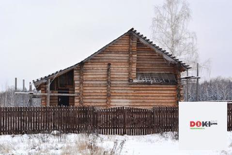 Двухэтажный дом из колиброванного бревна