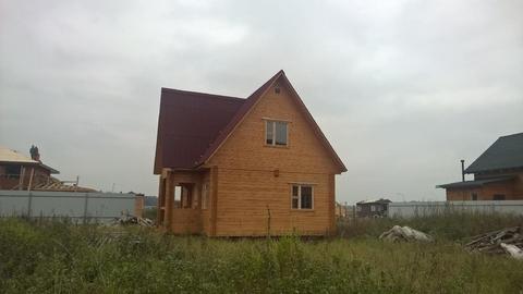 Дом 100 кв.м, Участок 9 сот. , Киевское ш, 45 км. от МКАД.