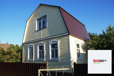 Продается бревенчатая дача 73 кв.м. 10 км от г. Егорьевска.