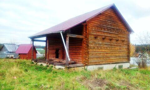 Дом и баня на участке 9 соток в д. Кравцово Ступинского района